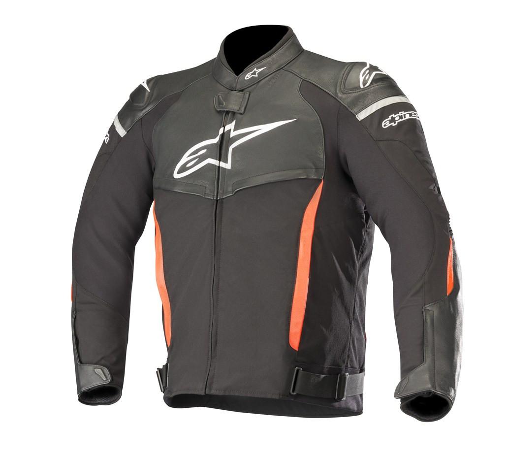 giacca moto pelle alpinestar casual