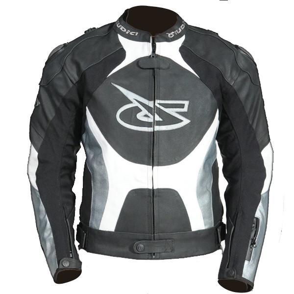 Giacca moto pelle Giudici Stealth Sport 1a8c6450119