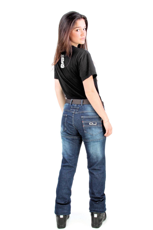 Jeans moto donna OJ Bluster Lady blue