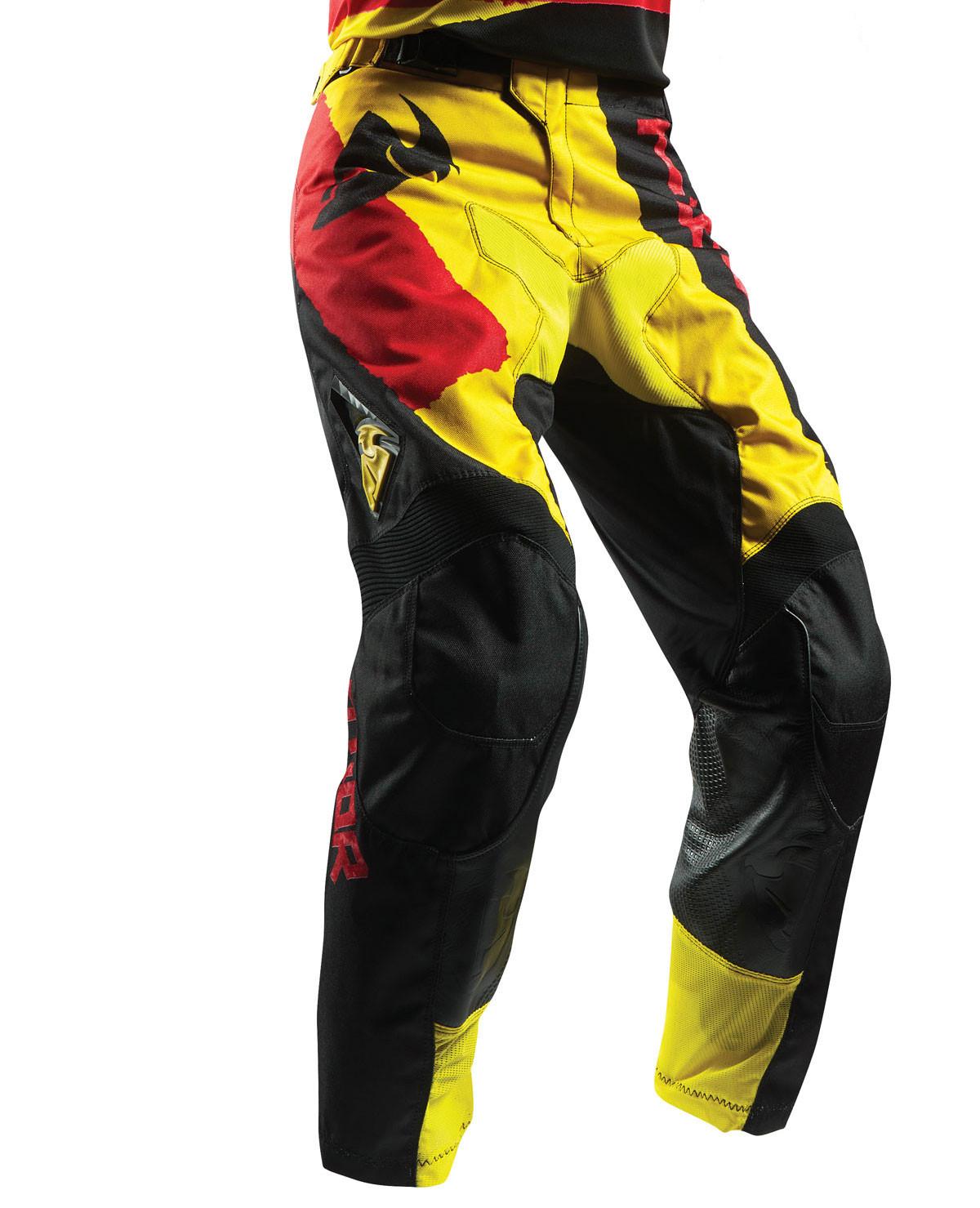 Thor Giallo Rosso Pantaloni Pulse Cross wqACUxaB