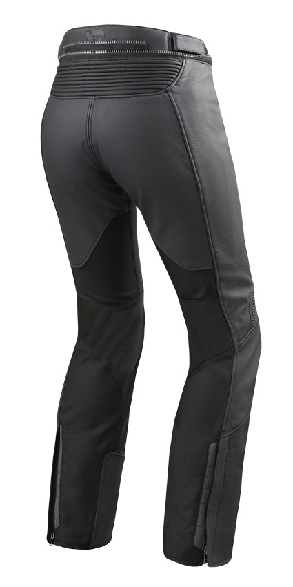 buy popular 224b4 ec546 Pantaloni moto donna pelle e tessuto Rev'it Ignition 3 Ladies Nero