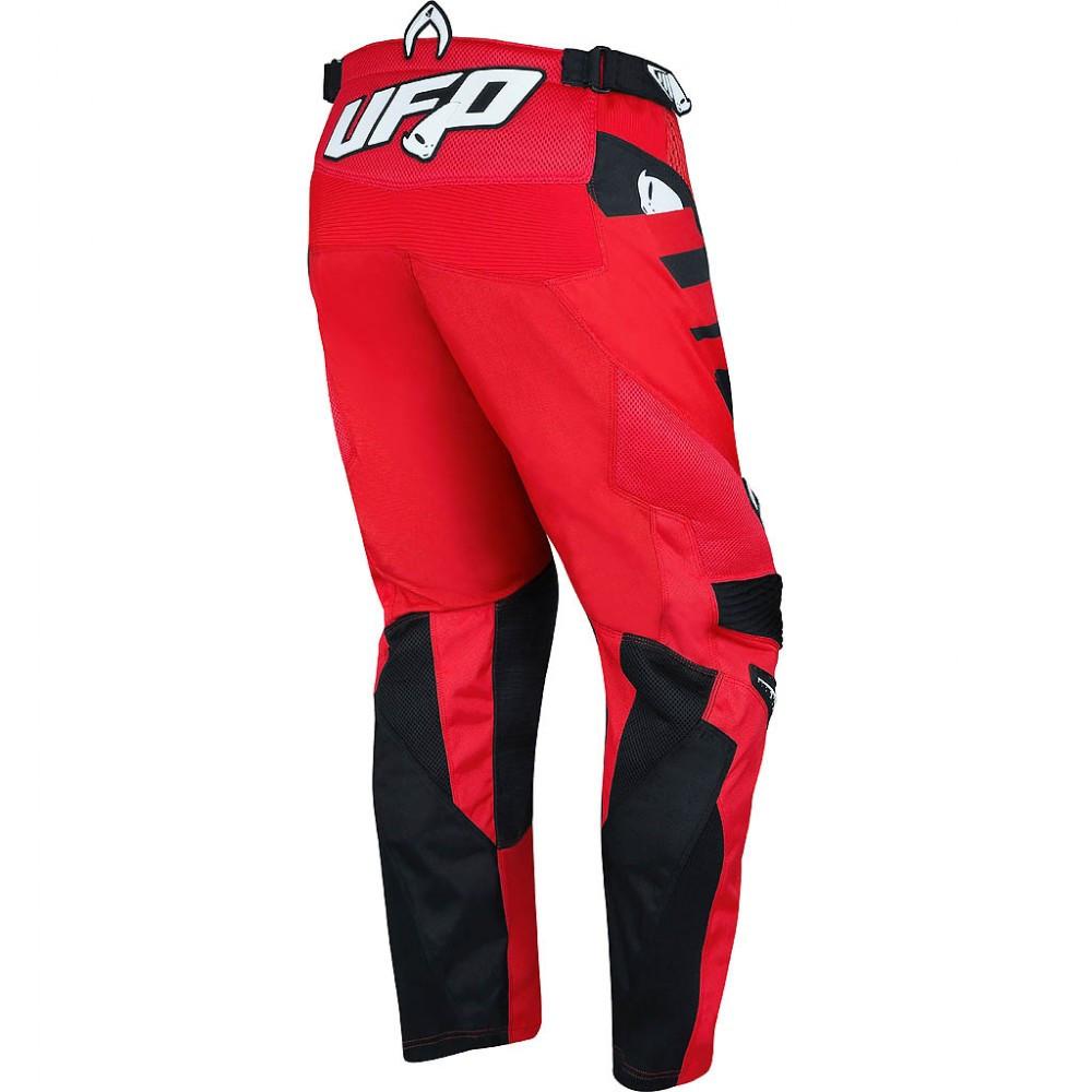 Pantaloni cross Ufo Plast MIZAR Rosso