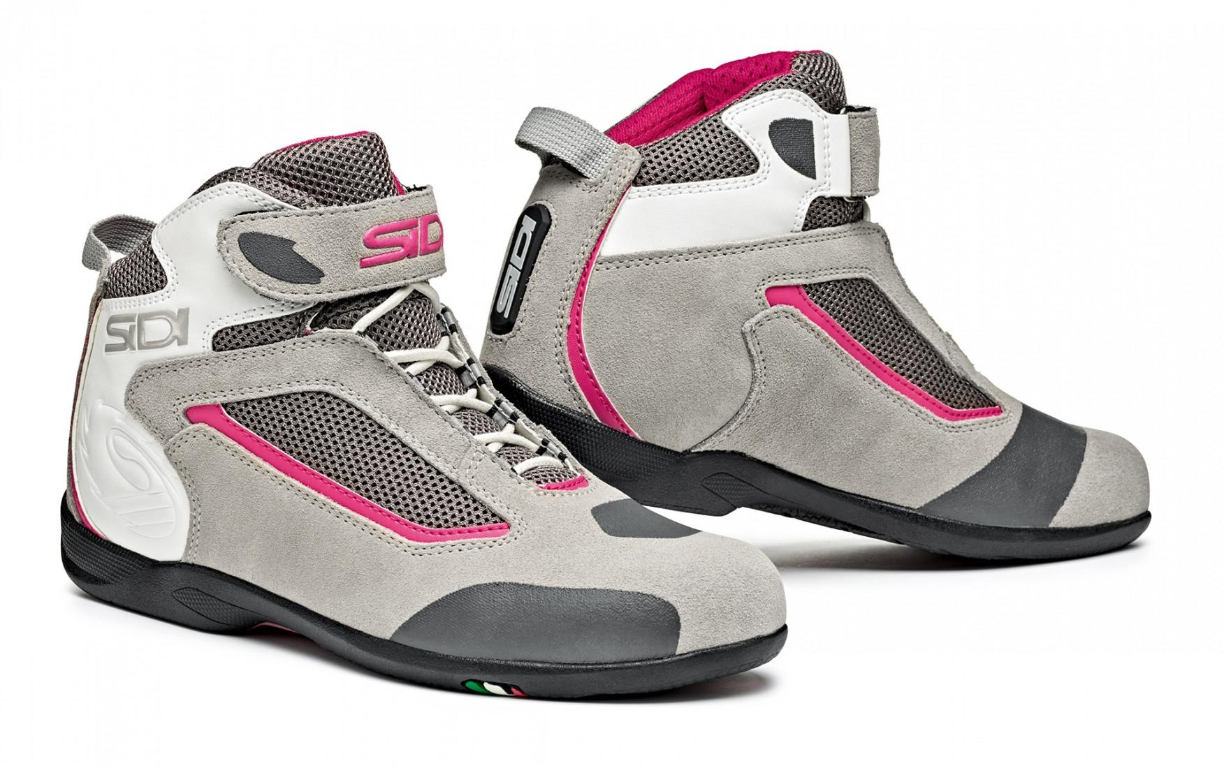 Scarpe donna Sidi SDS Gas grigio rosa