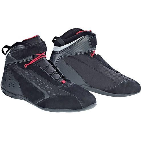 Scarpe moto Ixon Speeder nero rosso
