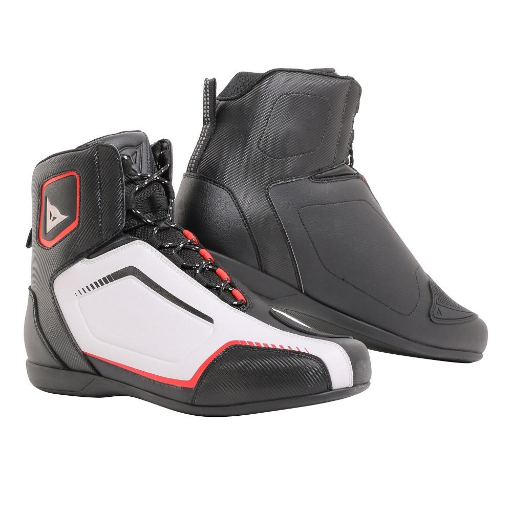 scarpe moto touring dainese raptors nero bianco rosso lava.jpg 5b908fbf800