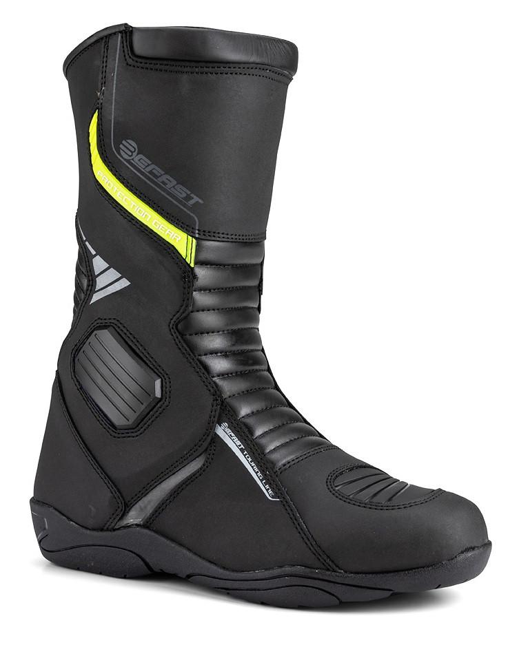 più amato ab9d4 bf41c Stivali moto touring pelle Befast Freedom WP Nero