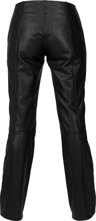 004108a2e96690 Pantaloni moto donna in pelle Alpinestars Stella Alloy neri