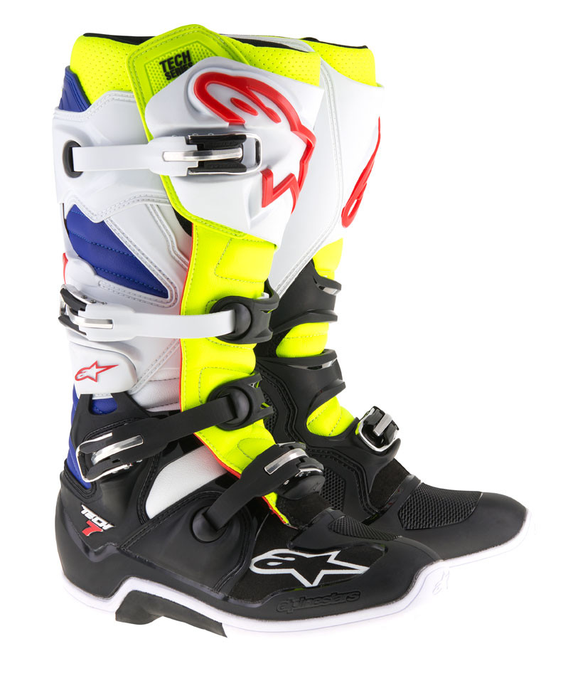 Alpinestars Tech 7 14 nero suola da uomo OFF ROAD motorcycle
