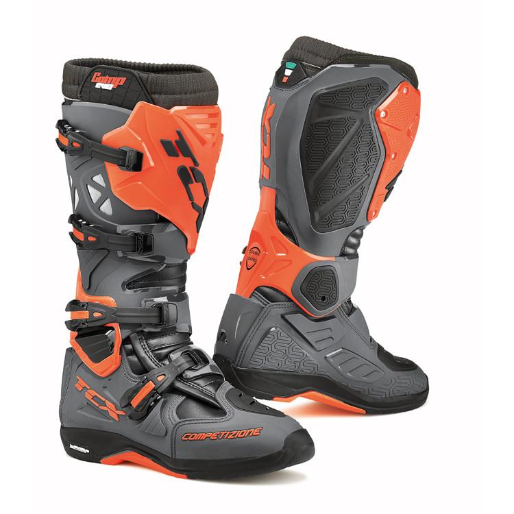 Stivali Motocross TCX Comp Evo 2 Michelin Orange