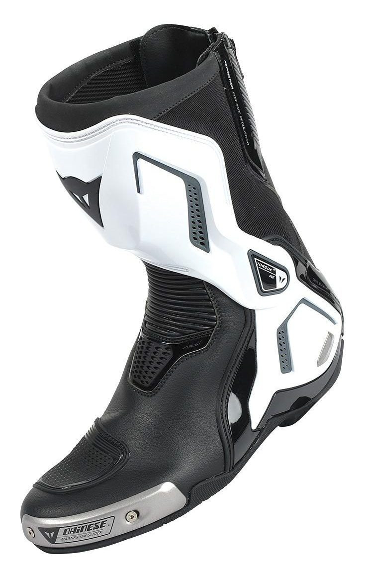 Stivali racing Dainese Torque D1 Out nero bianco antracite 68ca7d634c4