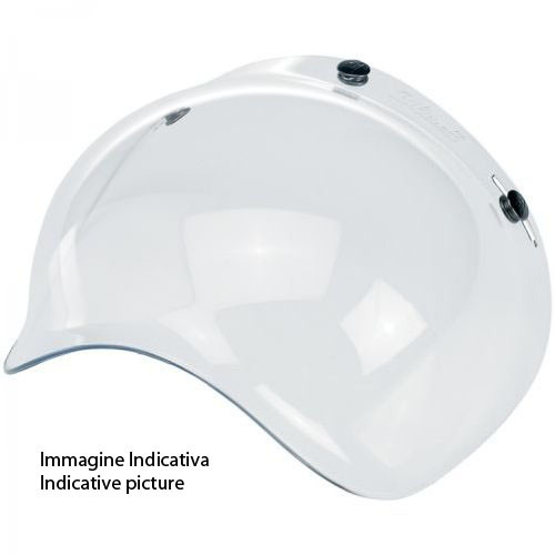 Visiera bolla Airoh Antigraffio per casco RIOT GARAGE chiara