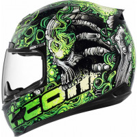 Casco integrale Icon Airmada Britton Verde