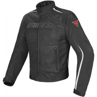 Giacca moto Dainese Hydra Flux D-Dry Nero Bianco