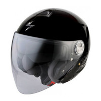 Casco moto jet Scorpion Exo 210 Air Nero