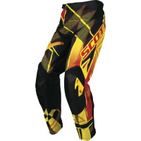 Pantalone Scott Motocross Hyper Kid Nero/Rosso