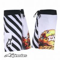 Pantaloncini Alpinestars Zoooooom bianchi