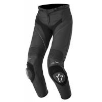 Pantaloni moto donna pelle Alpinestars Stella Missile Nero