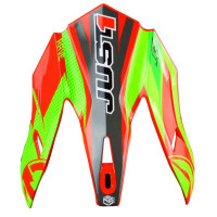 Ricambio frontino Just1 J32 Pro Rave Rosso Lime