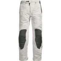 Pantaloni moto donna estivi Rev'it Airwave Ladies bianco-antraci