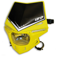 Portafaro Ufo Plast Stealth Monocolore giallo