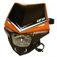 Portafaro Ufo Plast Stealth Bicolore arancio-nero
