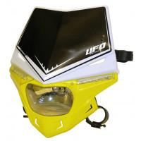 Portafaro Ufo Plast Stealth Bicolore bianco-giallo