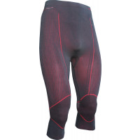 Pantaloni intimi Riday NEXUS ACTIVE® tre quarti Nero Rosso