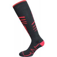 Calze tecniche lunghe Riday NEXUS ACTIVE® LIGHT Nero Rosso