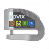 Bloccadisco con allarme Kovix KD6 perno 6 mm acciaio