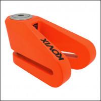 Bloccadisco Kovix KVZ perno 14 mm arancio fluo