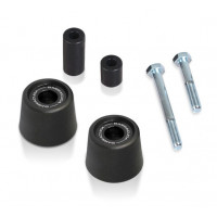 Kit coppia tamponi paracarena Barracuda BS110115 Nero per BMW