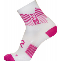 Calze tecniche donna Riday LIGHT WEIGHT Bianco Rosa