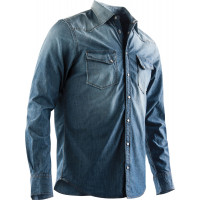 Camicia Acerbis Great River Blu