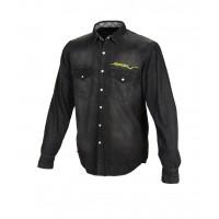Camicia Macna Civil vestibilità regular nero