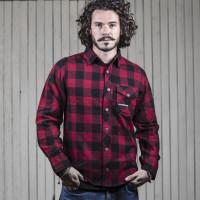 Camicia maniche lunghe Holy Freedom JESSIE JAMES Rosso Nero