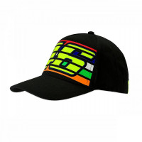 Cappellino VR46 46 STRIPES Nero