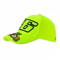 Cappellino VR46 46 THE DOCTOR Giallo Fluo