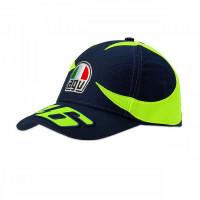 Cappellino VR46 Replica Helmet SOLE E LUNA Blu