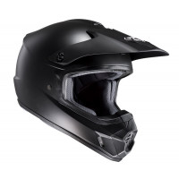 Casco cross HJC CS-MX II Semi flat nero opaco
