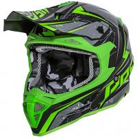 Casco cross Premier EXIGE QX7 Nero Verde