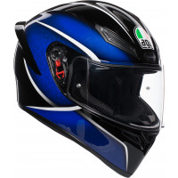 Casco integrale AGV K1 MULTI QUALIFY nero blu