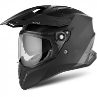 Casco integrale Airoh Commander in fibra nero opaco