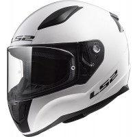 Casco integrale bambino LS2 FF353 RAPID MINI SINGLE MONO Bianco lucido