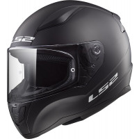 Casco integrale bambino LS2 FF353 RAPID MINI SINGLE MONO Nero opaco