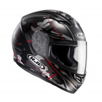 Casco integrale HJC CS-15 Songtan MC1SF Camouflage nero rosso