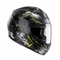 Casco integrale HJC CS-15 Songtan MC4HSF Camouflage nero giallo
