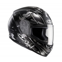Casco integrale HJC CS-15 Songtan MC5SF Camouflage nero bianco
