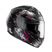 Casco integrale HJC CS-15 Songtan MC8SF Camouflage nero rosa