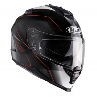 Casco integrale HJC IS-17 Arcus MC7 nero arancio bianco