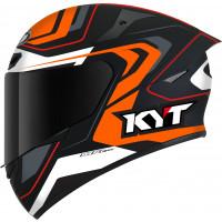 Casco integrale Kyt TT-COURSE OVERTECH Nero Arancio